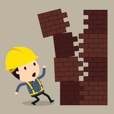 Definitionen på en nærved-ulykke diskuteres ofte i arbejdsmiljøorganisationen